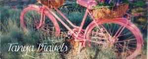 pink bike tanya travels croatia